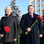 Руденя и Васильев возложили цветы