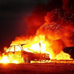 23-летний юноша поджог автомобиль  «Шевроле Ланос»