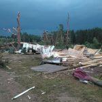 Страшные последствия урагана в Тверской области, погибли три человека
